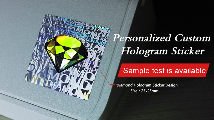 Can you make hologram label with our brand logo? - Hologram Sticker
